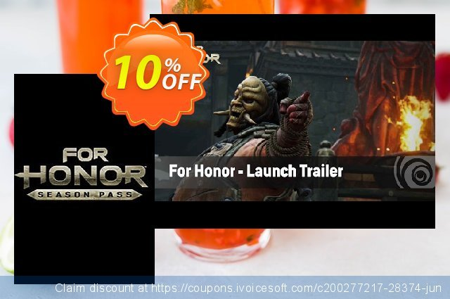 For Honor Season Pass PC discount 10% OFF, 2020 Xmas promo sales