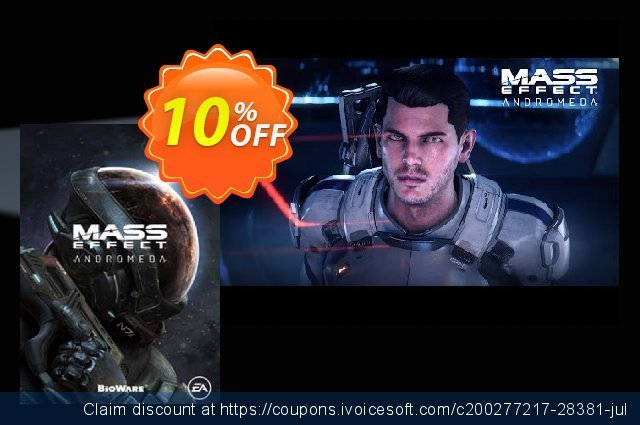 Mass Effect Andromeda PC DLC discount 10% OFF, 2020 New Year's eve offering sales
