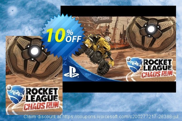 Rocket League PC - Chaos Run DLC 独占 扣头 软件截图