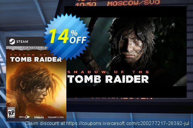 Shadow of the Tomb Raider - Croft DLC PC discount 14% OFF, 2021 Spring offering sales