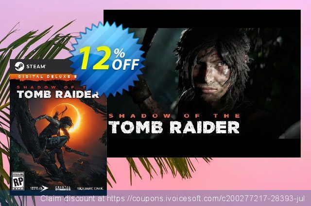 Shadow of the Tomb Raider - Deluxe DLC PC discount 11% OFF, 2020 Thanksgiving offering deals