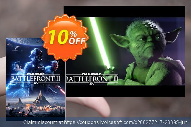 Star Wars Battlefront II 2 PC - The Last Jedi Heroes DLC discount 10% OFF, 2020 Black Friday promo