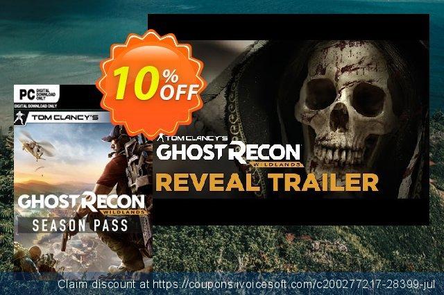 Tom Clancy's Ghost Recon Wildlands Season Pass PC 气势磅礴的 产品交易 软件截图