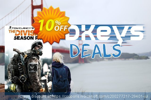 Tom Clancys The Division Season Pass PC (US) 惊人的 产品折扣 软件截图