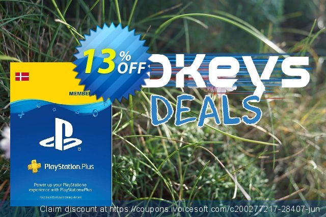 Playstation Plus - 12 Month Subscription (Denmark) discount 13% OFF, 2020 Black Friday deals
