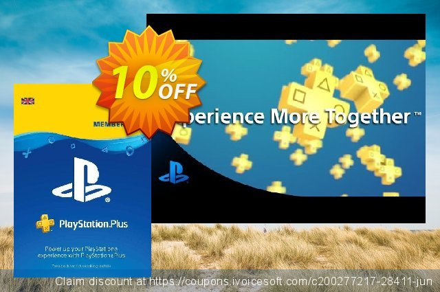 PlayStation Plus (PS+) - 30 Day Trial Subscription (UK) discount 10% OFF, 2020 University Student deals discount