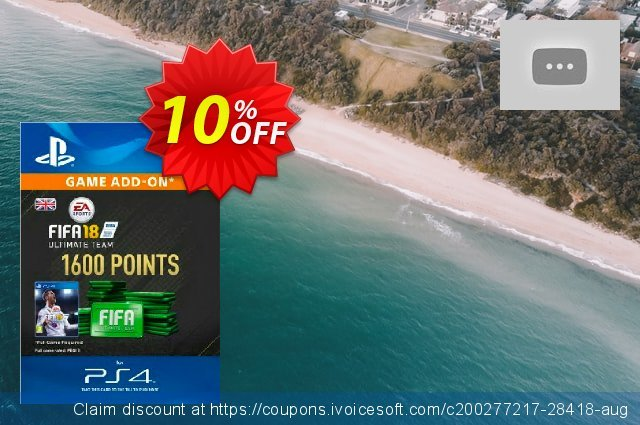 1600 FIFA 18 Points PS4 PSN Code - UK account discount 10% OFF, 2021 World Population Day promo. 1600 FIFA 18 Points PS4 PSN Code - UK account Deal