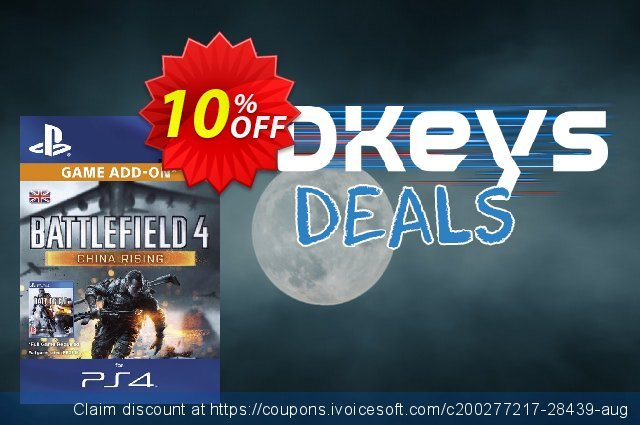 Battlefield 4 China Rising DLC PS4 discount 10% OFF, 2020 Thanksgiving Day offering sales