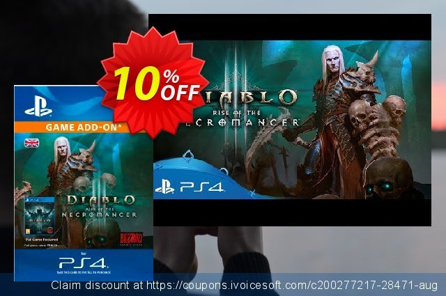 Diablo III: Rise of the Necromancer PS4 discount 10% OFF, 2020 New Year's eve offering sales