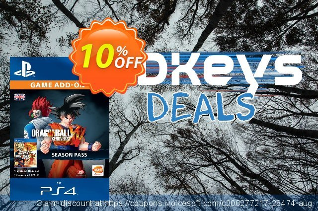 Dragon Ball Xenoverse - Season Pass PS4 discount 10% OFF, 2021 Happy New Year deals