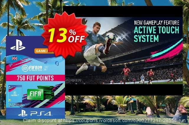 750 FIFA 19 Points PS4 PSN Code - UK account discount 13% OFF, 2021 July 4th offering sales. 750 FIFA 19 Points PS4 PSN Code - UK account Deal