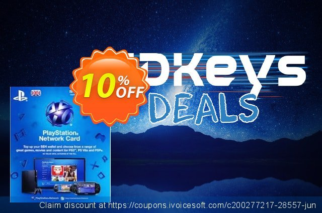 Playstation Network Card - £42 (PS Vita/PS3/PS4) discount 10% OFF, 2021 4th of July offering sales. Playstation Network Card - £42 (PS Vita/PS3/PS4) Deal