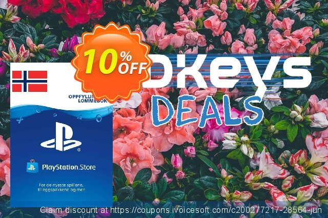 Playstation Network (PSN) Card 400 NOK (Norway) 可怕的 产品销售 软件截图