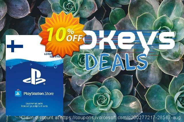 Playstation Network (PSN) Card 50 EUR (Finland) discount 10% OFF, 2020 Halloween promo