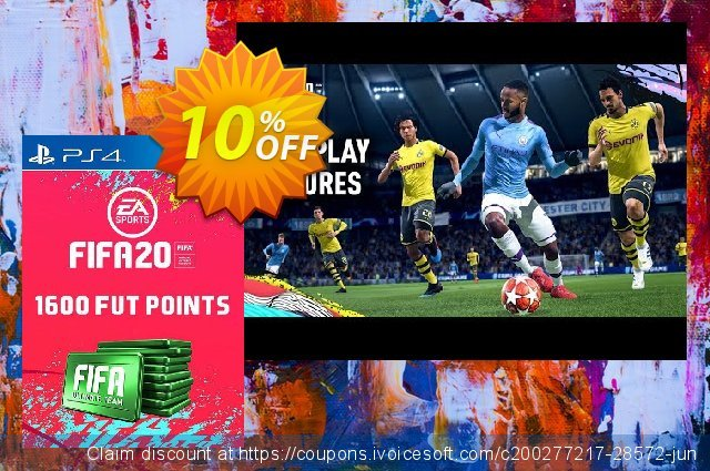 1600 FIFA 20 Ultimate Team Points PS4 (Switzerland)  특별한   세일  스크린 샷