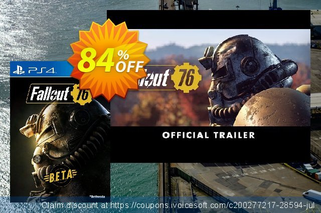 Fallout 76 BETA PS4 discount 83% OFF, 2020 Back to School season offering sales