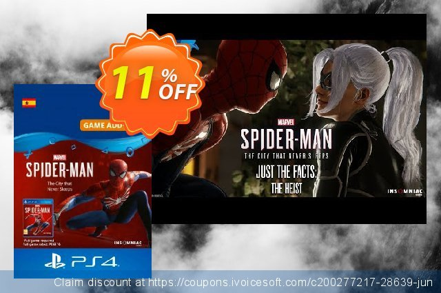 Marvels Spider-Man The City That Never Sleeps PS4 (Spain)  대단하   제공  스크린 샷