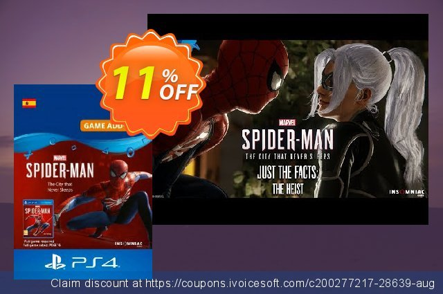 Marvels Spider-Man The City That Never Sleeps PS4 (Spain) 气势磅礴的 扣头 软件截图