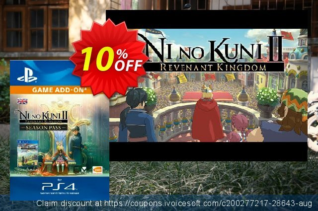 Ni No Kuni II: Revenant Kingdom - Season Pass PS4 气势磅礴的 扣头 软件截图