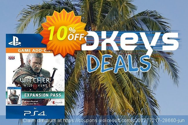 The Witcher 3: Wild Hunt Expansion Pass PS4 - Digital Code 大的 产品销售 软件截图