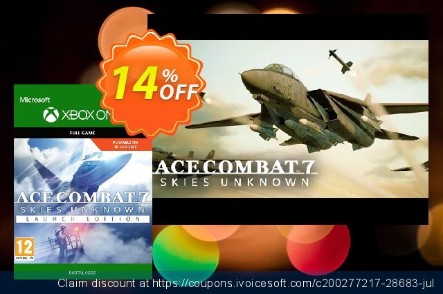 Ace Combat 7 Skies Unknown Standard Launch Edition Xbox One  경이로운   제공  스크린 샷