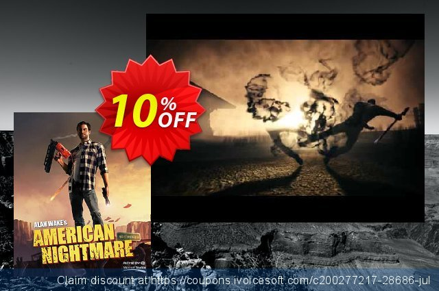 Alan Wake's American Nightmare Xbox One / 360  최고의   할인  스크린 샷