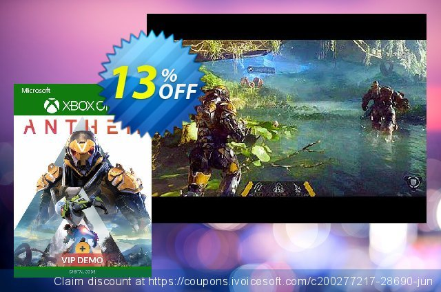 Anthem Xbox One + VIP Demo discount 13% OFF, 2020 Back to School Promos offering sales