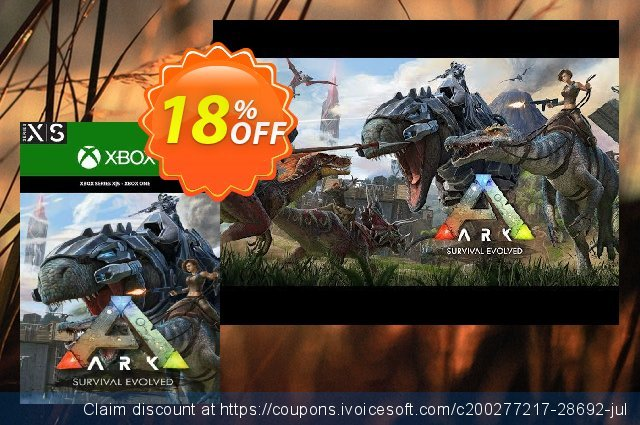 ARK Survival Evolved Xbox One discount 18% OFF, 2020 Halloween sales