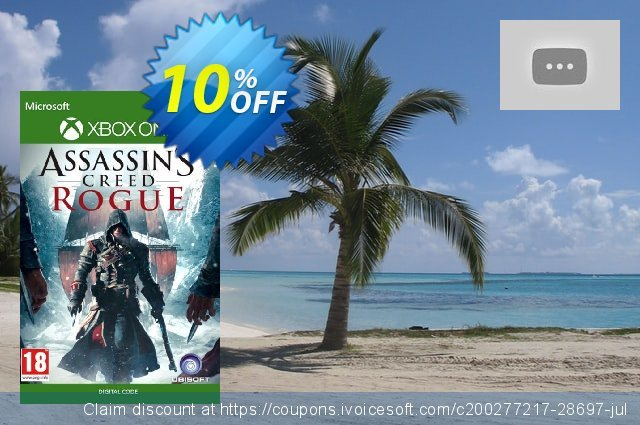 Assassin's Creed Rogue Xbox One discount 10% OFF, 2021 July 4th offer. Assassin's Creed Rogue Xbox One Deal