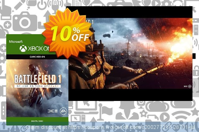 Battlefield 1 Deluxe Edition UPGRADE Xbox One  대단하   프로모션  스크린 샷
