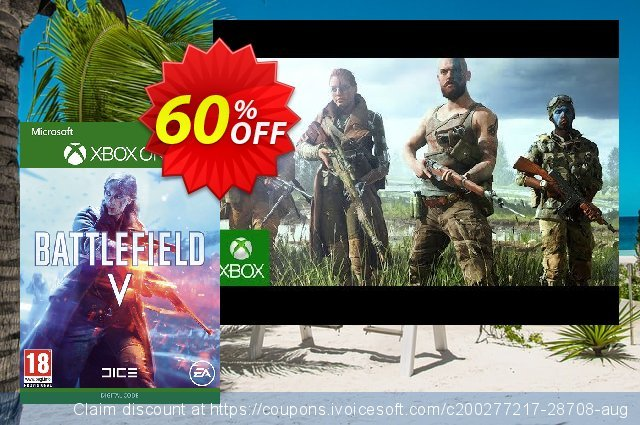 Battlefield V 5 Xbox One (UK) discount 60% OFF, 2021 Parents' Day offering sales. Battlefield V 5 Xbox One (UK) Deal