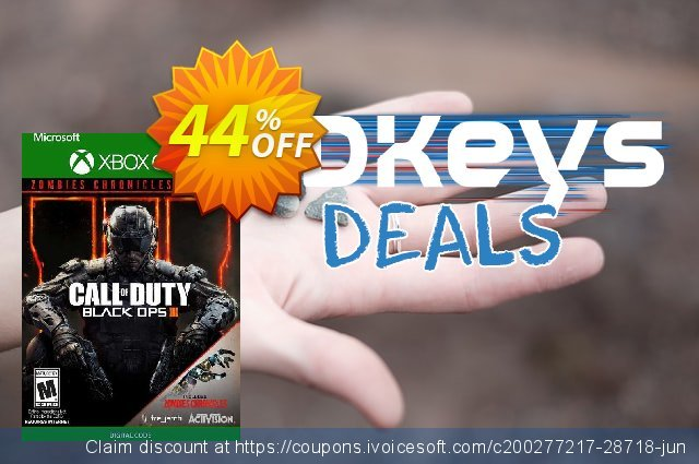 Call of Duty: Black Ops III - Zombies Chronicles Edition Xbox One (UK) 超级的 扣头 软件截图