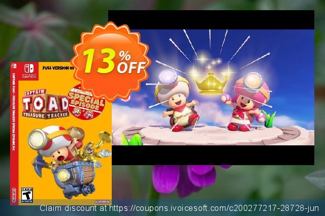 Captain Toad Treasure Tracker - Special Episode Switch DLC  신기한   촉진  스크린 샷