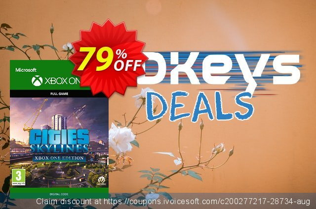 Cities: Skylines Xbox One (UK) discount 53% OFF, 2020 Black Friday offering sales