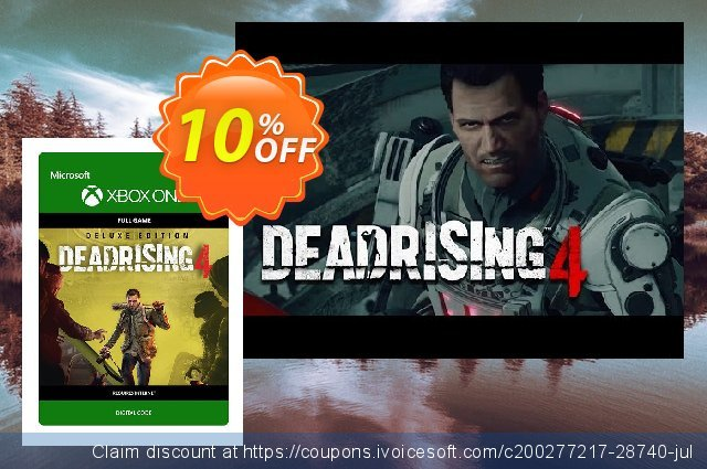 Dead Rising 4 Deluxe Edition Xbox One 可怕的 折扣码 软件截图