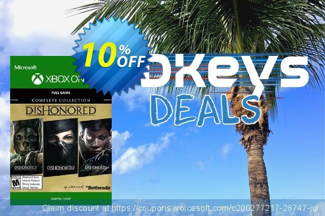 Dishonored Complete Collection Xbox One  대단하   할인  스크린 샷