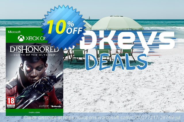 Dishonored Death of the Outsider Xbox One 最佳的 优惠 软件截图