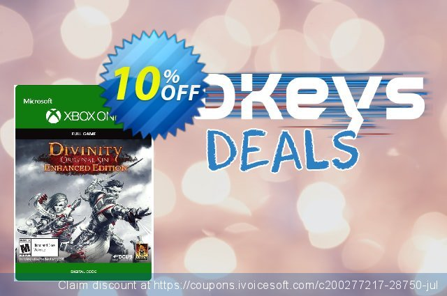 Divinity Original Sin Enhanced Edition Xbox One discount 10% OFF, 2021 American Independence Day discounts. Divinity Original Sin Enhanced Edition Xbox One Deal
