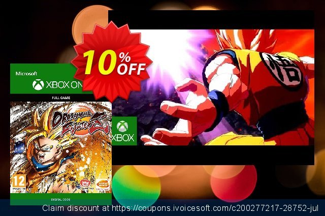 Dragon Ball: FighterZ Xbox One discount 10% OFF, 2021 4th of July sales. Dragon Ball: FighterZ Xbox One Deal