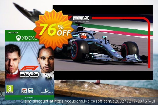 F1 2019 Xbox One (US) discount 69% OFF, 2021 Chocolate Day offering sales