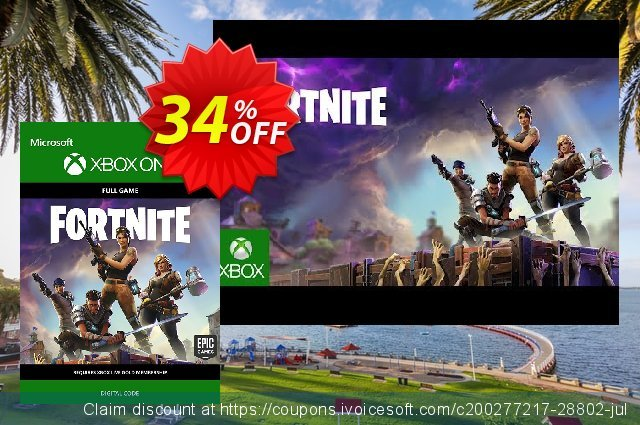 Fortnite - Deluxe Founder's Pack Xbox One 可怕的 产品销售 软件截图