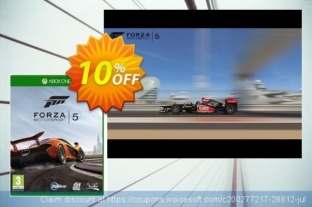Forza Motorsport 5 Xbox One - Digital Code discount 10% OFF, 2020 Halloween offering deals