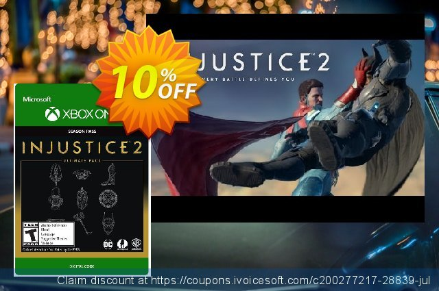 Injustice 2 Ultimate Pack Xbox One 独占 扣头 软件截图