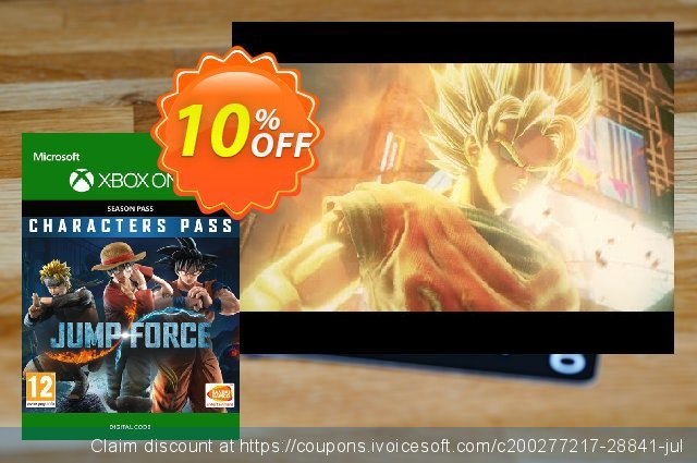 Jump Force Character Pass Xbox One 棒极了 折扣 软件截图