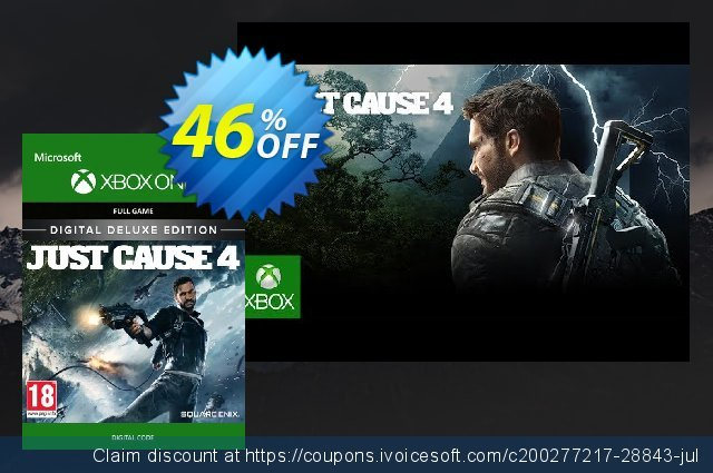 Just Cause 4 Deluxe Edition Xbox One 令人敬畏的 销售 软件截图