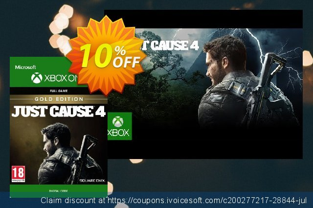 Just Cause 4 Gold Edition Xbox One 壮丽的 交易 软件截图