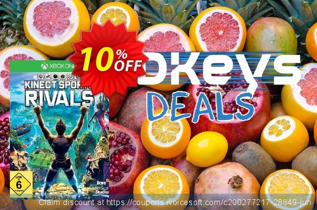 Kinect Sports Rivals Xbox One - Digital Code 气势磅礴的 产品交易 软件截图