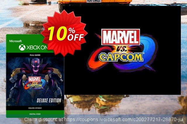 Marvel vs. Capcom Infinite - Deluxe Edition Xbox One discount 10% OFF, 2021 New Year's Day discounts