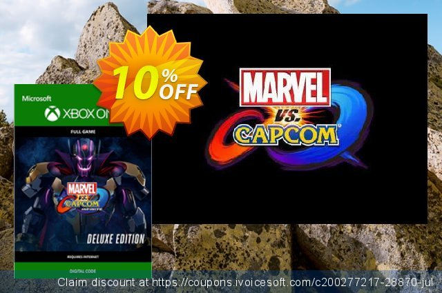 Marvel vs. Capcom Infinite - Deluxe Edition Xbox One 惊人 优惠 软件截图