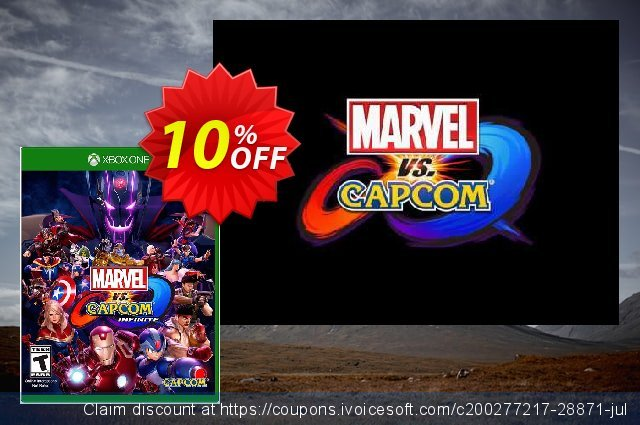 Marvel vs. Capcom Infinite - Standard Edition Xbox One discount 10% OFF, 2021 Plastic Bag Free Day offering sales. Marvel vs. Capcom Infinite - Standard Edition Xbox One Deal